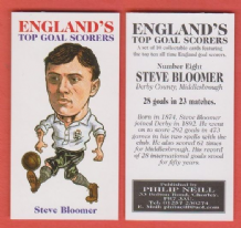 England Steve Bloomer Derby County